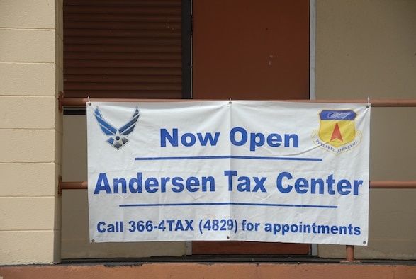 ANDERSEN AIR FORCE BASE, Guam - The tax center here continues to remain open to help infividuals file their 2009 taxes.  Due to Guam's overseas location, special steps must be taken when E-FILING a federal tax return. (U.S. Air Force photo by Staff Sgt. Jamie Lessard