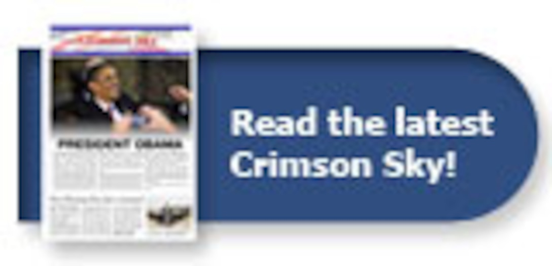 Crimson Sky front page logo
