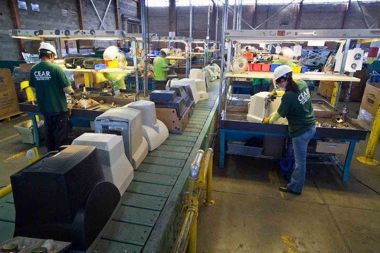 CEAR recycled over 15 million pounds of e-waste last year. (Courtesy photo)