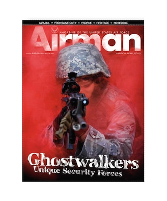 The March-April issue of Airman magazine is now available in print and online.  (U.S. Air Force photo illustration)