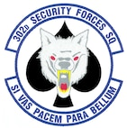 The 302nd Security Forces Squadron. (U.S. Air Force graphic)