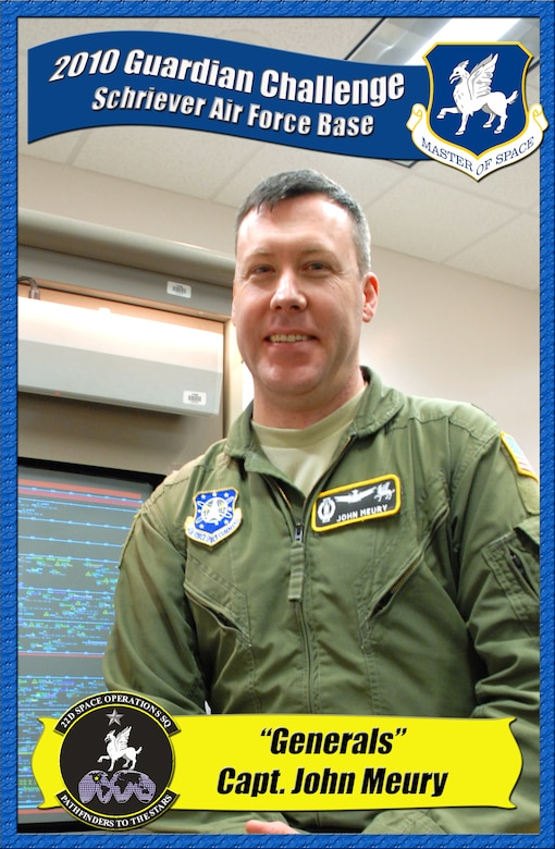 Capt. John Meury, 22nd Space Operations Squadron (U.S. Air Force photo illustration/Staff Sgt. Daniel Martinez)