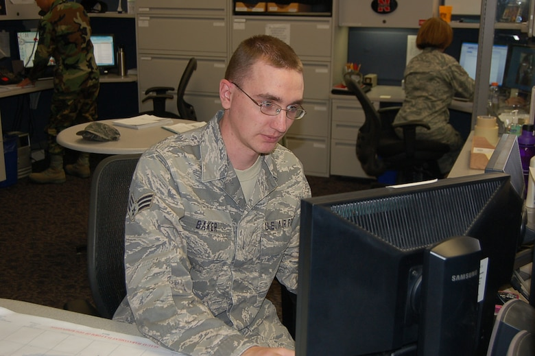 BUCKLEY AIR FORCE BASE, Colo. -- Senior Airman Kenneth Baker, 566th IS, is Team Buckley's Warrior of the Week for March 22. (U.S. Air Force photo)