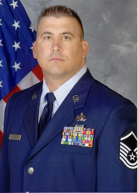 Master Sgt. Jones, 926th Group, was recognized as part of the sensor operator team of 2010 (courtesy photo)