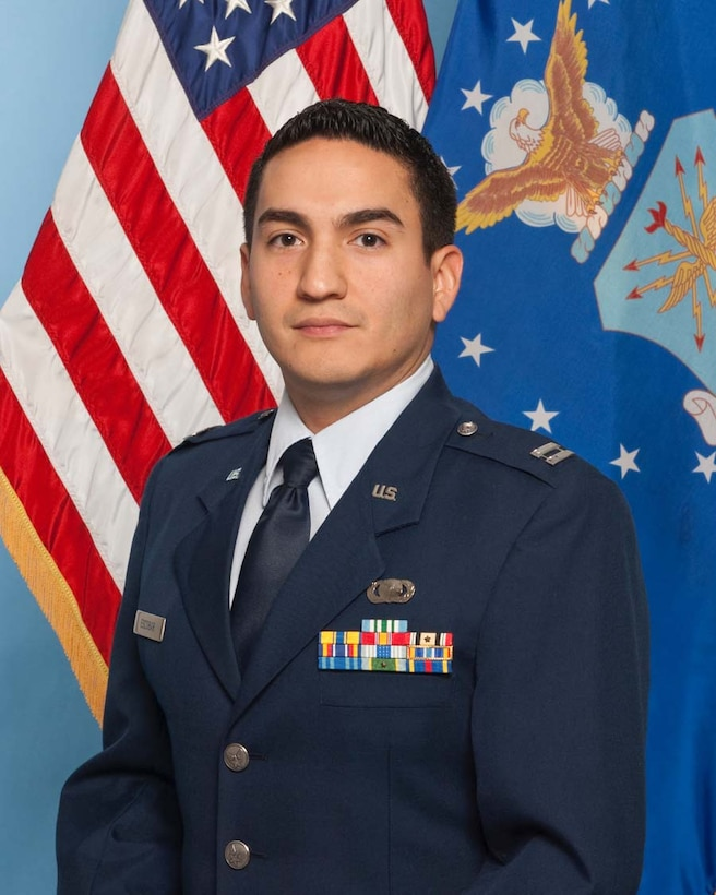 Capt. Javier Escobar from the Air Force Operational Test and Evaluation Center's Detachment 5 at Edwards AFB, Calif., is the 2009 AFOTEC Company Grade Officer of the Year.