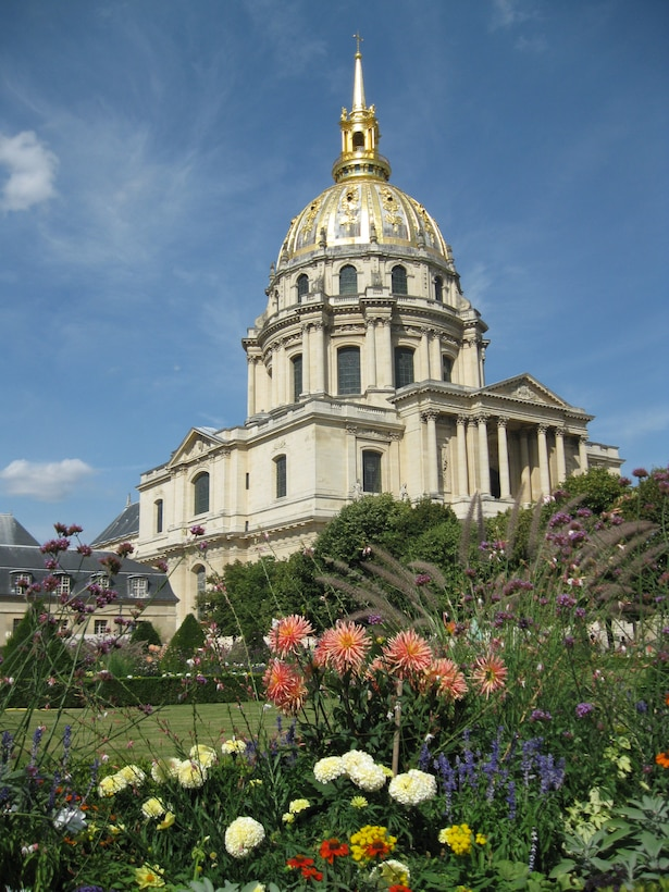 Les Invalides is a multi-purpose building in Paris. The largest occupant is the Museum of the Army, which houses tombs of famous French military heroes including Napoleon Bonaparte. (U.S. Air Force photo/2nd Lt. Brian Wagner)