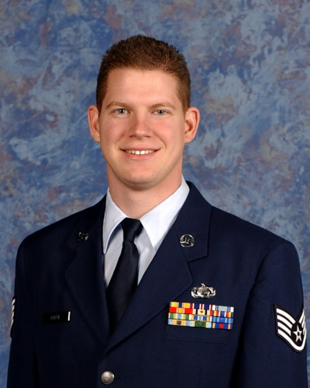 114th Fighter Wing NCO of the Year is Staff Sgt. Mark S. Kreul, 175th Fighter Squadron, Intelligence.