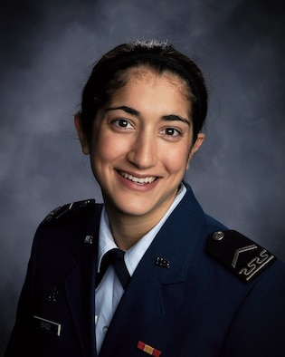 Cadet 2nd Class Jennifer Bandi, shown here in her sophomore yearbook photo, was selected as one of 60 Truman Scholarship recipients March 30, 2010. Cadet Bandi, a native of Winchester, Mass., is the Academy's 16th Truman Scholar. (U.S. Air Force photo)