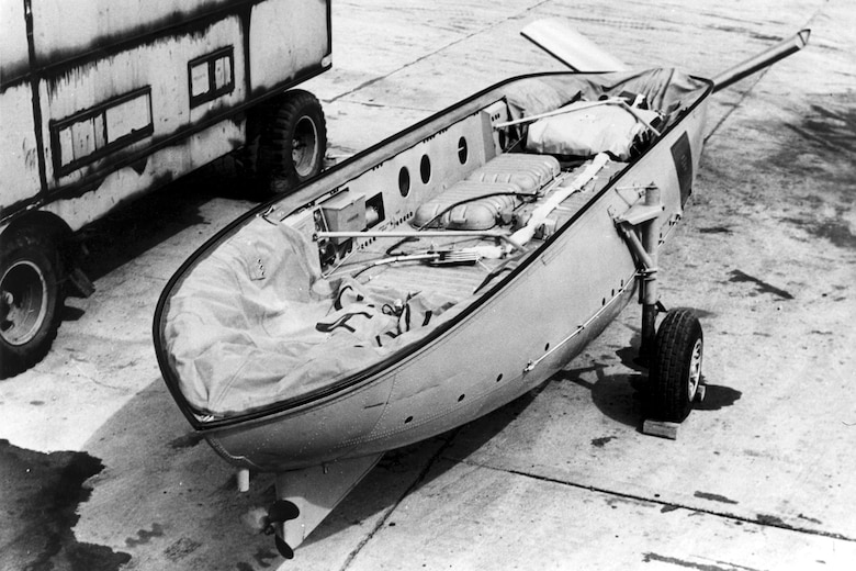 A-3 lifeboat. (U.S. Air Force photo)