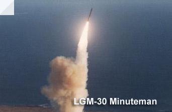 Minuteman 1 ICBM LGM-30 Intercontinental Ballistic Missile Launch Photo