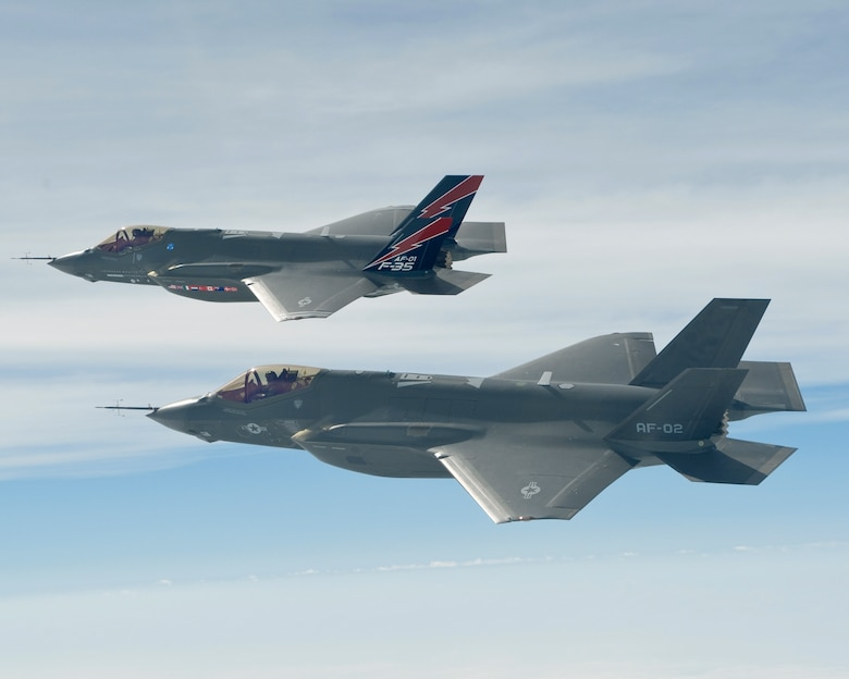 F-35As leave Texas to begin operational testing > U S  Air