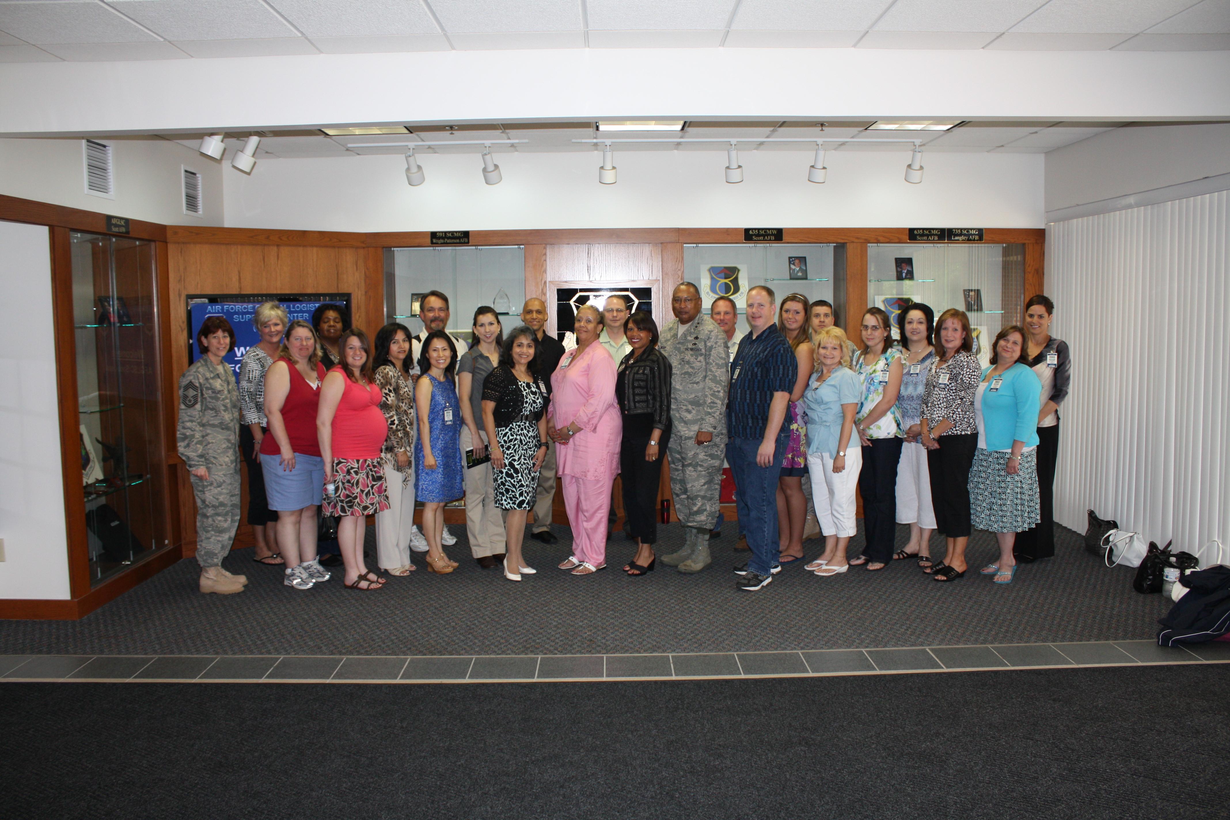 AFGLSC Hosts Spouses Appreciation Day