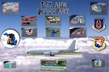 Here is a composite of past nose art displayed on KC-135R Stratotanker aircraft that were assigned to the 927th Air Refueling Wing at Selfridge Air National Guard Base, Mich. The 927th ARW moved to MacDill Air Force Base, Fla. in 2008 due to the Base Realignment and Closure Commission.