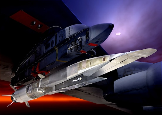 Air Force officials said the X-51A Waverider will make its first hypersonic flight test attempt Tuesday, May 25, after it's released by a B-52 bomber off the southern California coast. Four X-51A cruisers have been built for the Air Force Research Laboratory by industry partners Boeing and Pratt & Whitney Rocketdyne.  (Pratt & Whitney Rocketdyne)