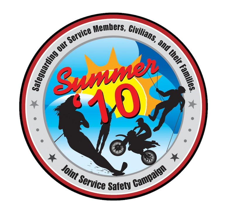 The Critical Days of Summer safety campaign will begin May 28 and run through Sept. 7. (U.S. Air Force graphic)