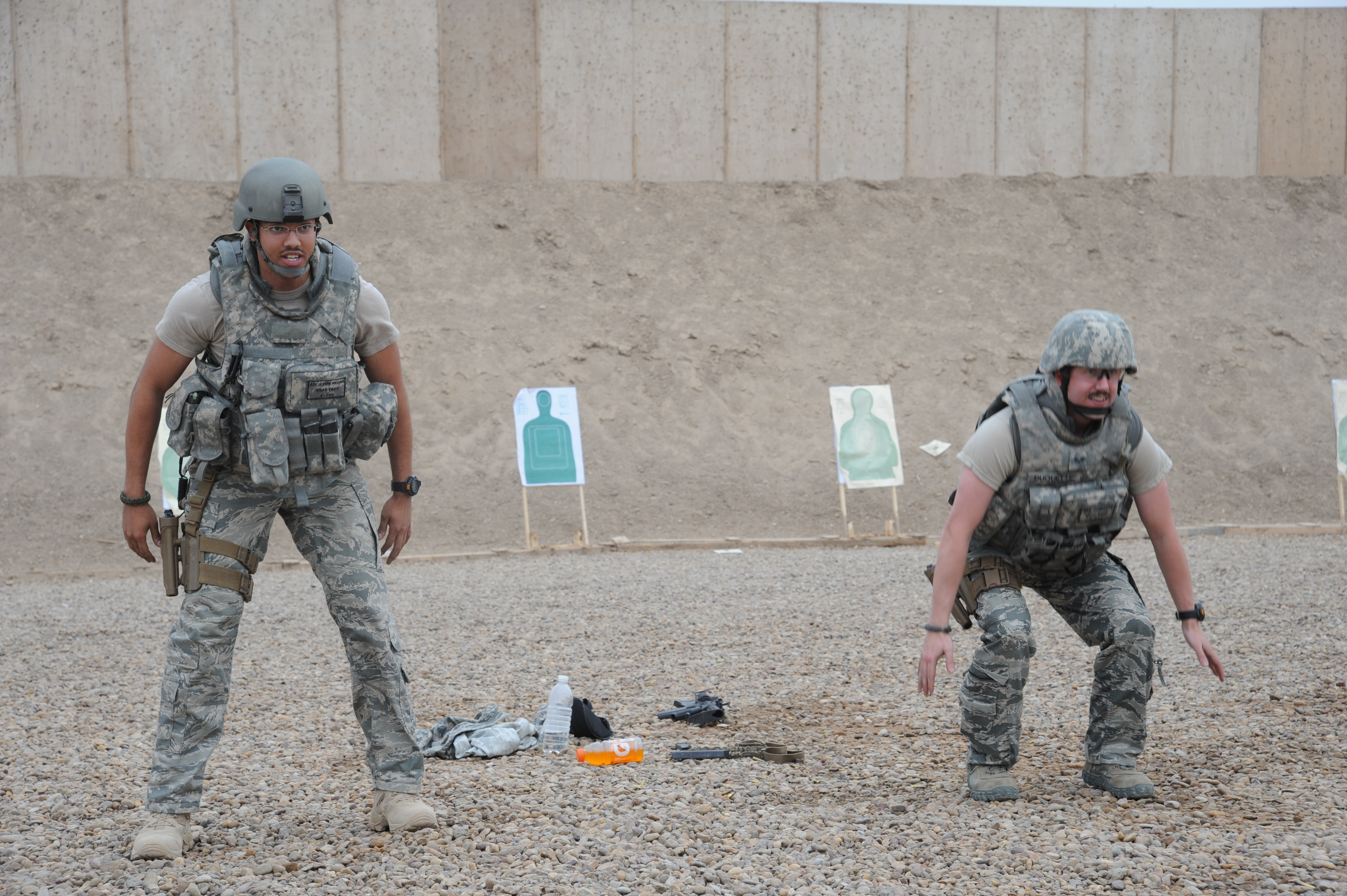 TACPs Train For Combat
