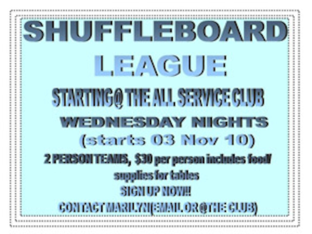Alumni Shuffleboard