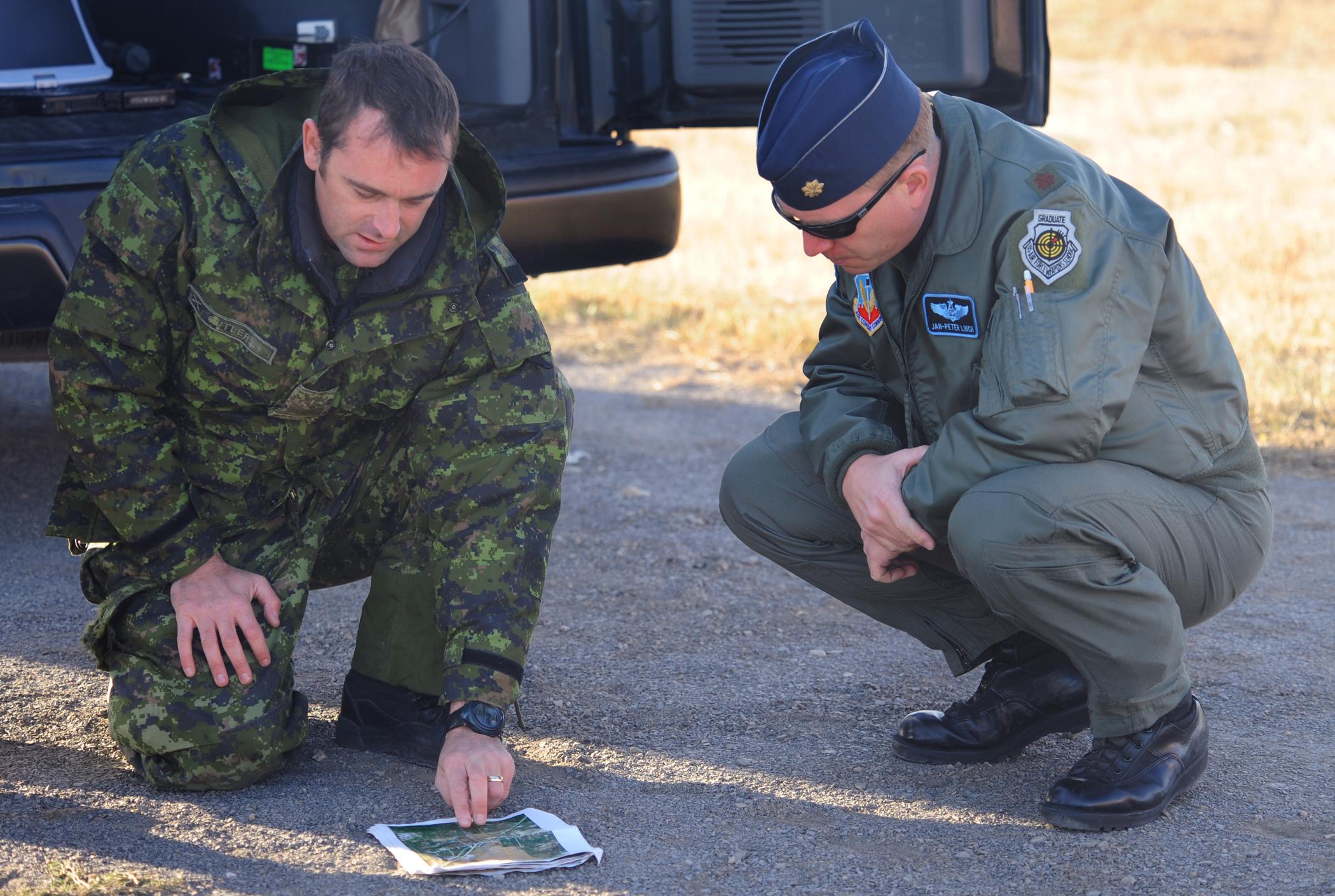 37th bomb squadron airmen canadian forces train u s air force