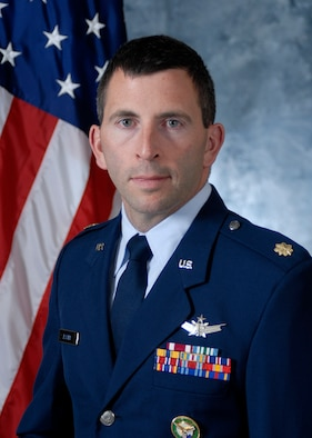Maj. Marty Easter, 21st Space Operations Squadron, Det. 3 commander