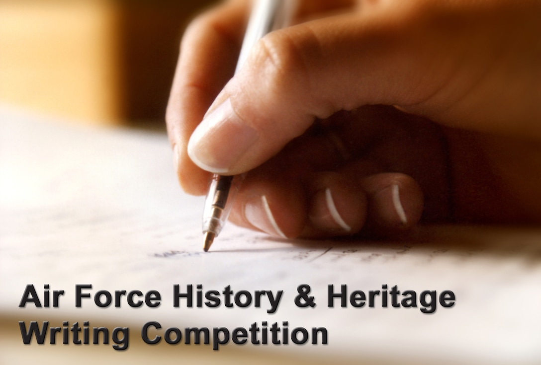 The National Museum of the U.S. Air Force holds an annual Air Force Heritage and History Writing Competition, providing students the opportunity to develop positive academic and character qualities and to showcase their writing talents while vying for scholarship funds.