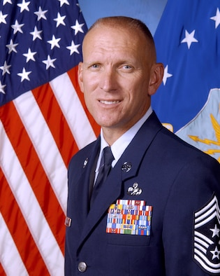 Chief Master Sgt. Brian Hornback, Eighth Air Force command chief
