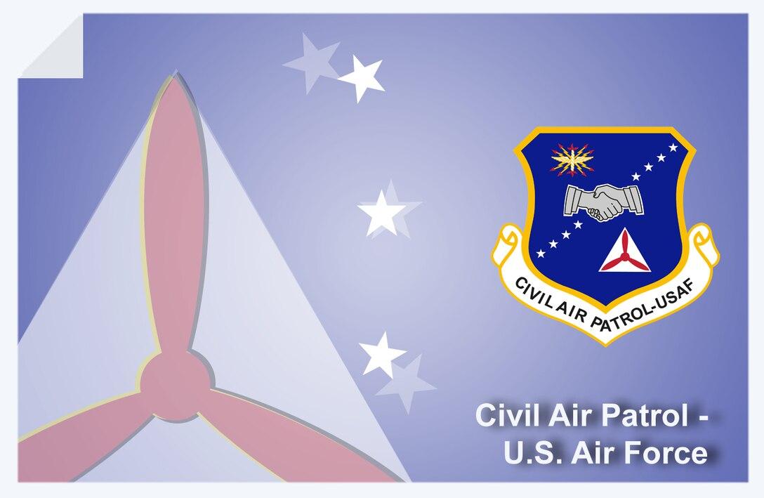 Civil Air Patrol web banner. (U.S. Air Force graphic by Andy Yacenda, Defense Media Activity-San Antonio)