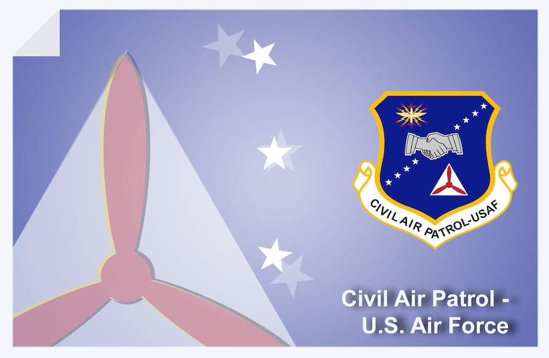 Civil Air Patrol web banner. (U.S. Air Force graphic by Andy Yacenda, Defense Media Activity-San Antonio)