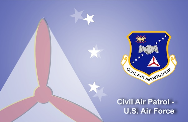 Civil Air Patrol fact sheet banner. (U.S. Air Force graphic by Andy Yacenda, Defense Media Activity-San Antonio)