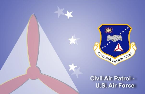 Civil Air Patrol fact sheet banner. (U.S. Air Force graphic by Andy Yacenda, Defense Media Activity-San Antonio)