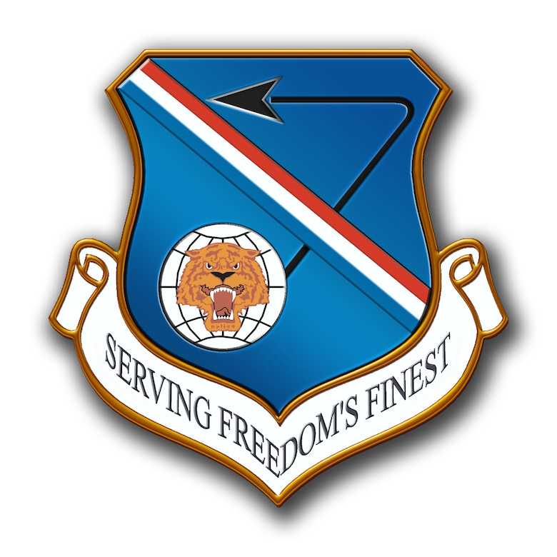 377th Air Base Wing Shield with Shadow
