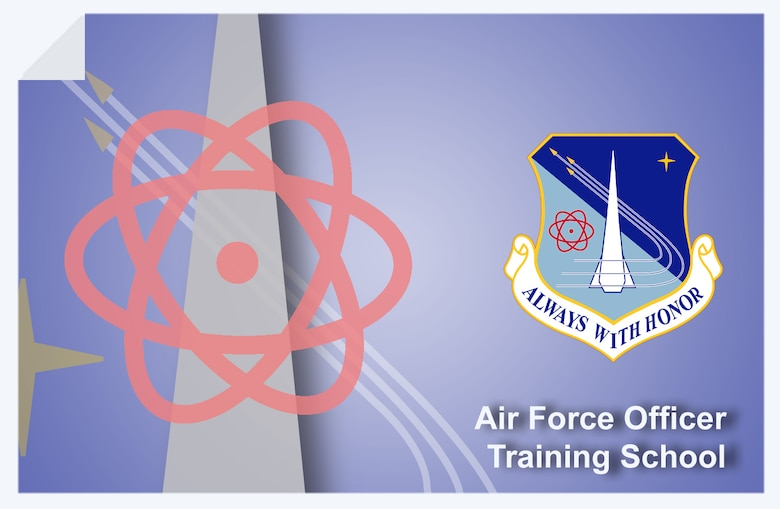 Air Force Officer Training School web banner. (U.S. Air Force graphic by Andy Yacenda, Defense Media Activity-San Antonio)