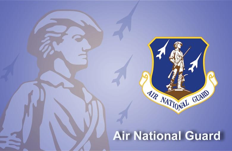 Air National Guard fact sheet banner. (U.S. Air Force graphic by Andy Yacenda, Defense Media Activity-San Antonio)