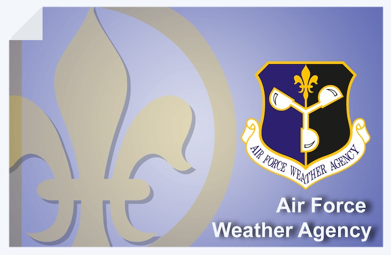 Air Force Weather Agency web banner. (U.S. Air Force graphic by Andy Yacenda, Defense Media Activity-San Antonio)