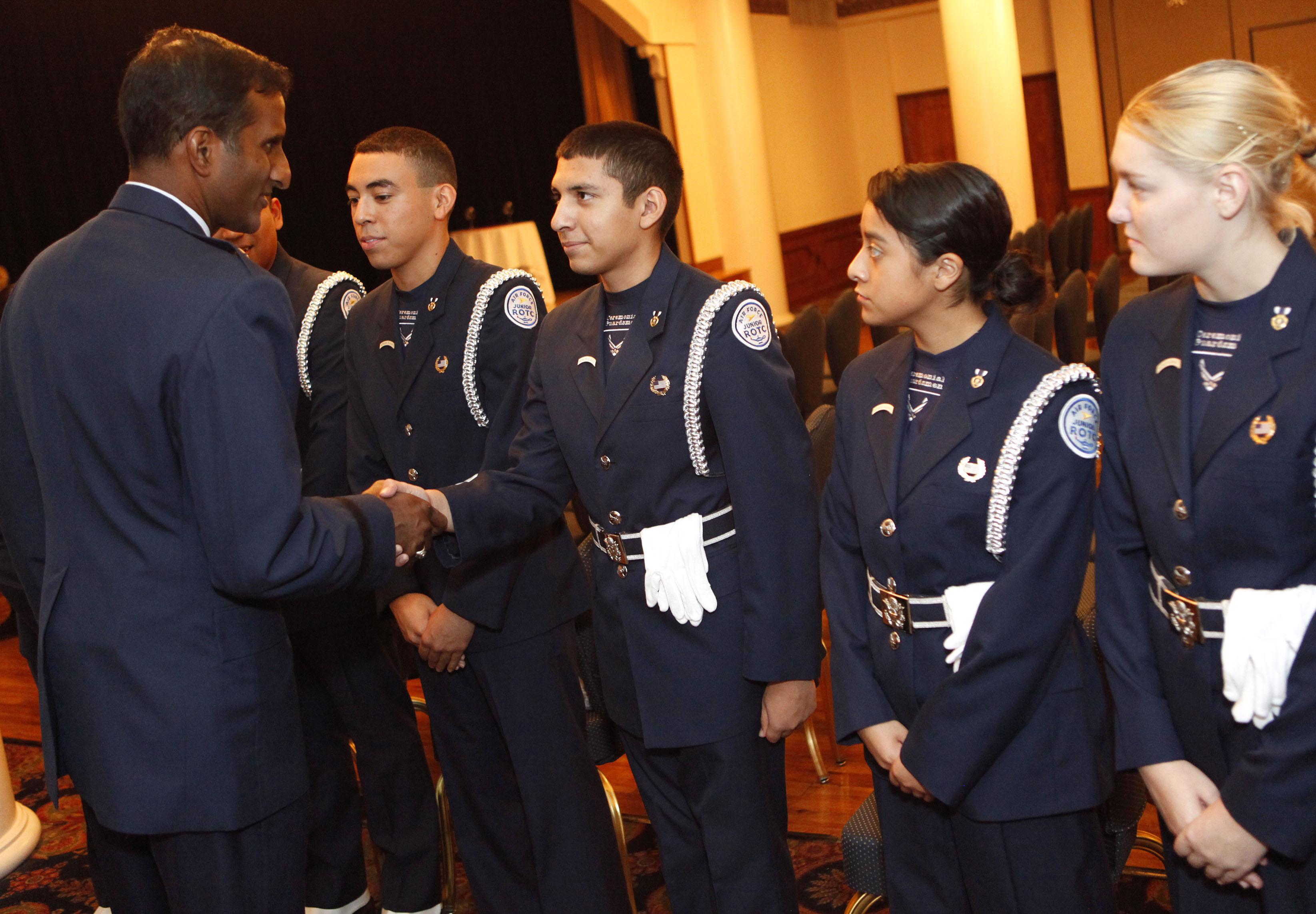 Balan R Ayyar Thanks Members Of The Air Force
