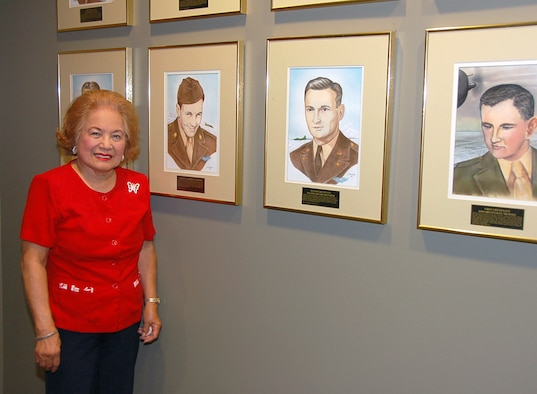 BARKSDALE AIR FORCE BASE, La. – After 49 years of civil service, 29 as part of Eighth Air Force, Medina Paro officially retired Aug. 27. Mrs. Paro began working as a federal employee in June of 1961. In 1977, she became the 2nd Field Maintenance Squadron commander's secretary then was reassigned to the 2nd Organizational Maintenance Squadron. She made her move under Eighth Air Force Headquarters in 1981, when she moved to the 608th ACOMS. (U.S. Air Force photo by Maj. Richard Komurek)