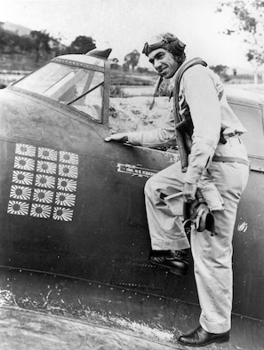 Medal of Honor recipient Col. Neel E. Kearby. (U.S. Air Force photo)