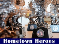 Graphic ad for 105 Airlift Wing Hometown Heroes Ceremony