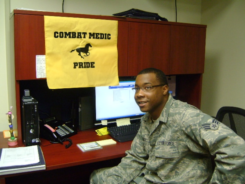 Senior Airman Jeremy D. Blakey, 51st Medical Support Squadron