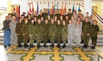 DIMO Class photo for Trauma Nurse course; Tartu, Estonia, June 2010.  (US Air Force Photo)