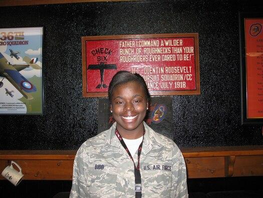 Airman 1st Class Lekesa Bibb, 36th Fighter Squadron