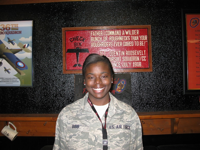 Airman 1st Class Lekesa Bibb, 36th Fighter Squadron