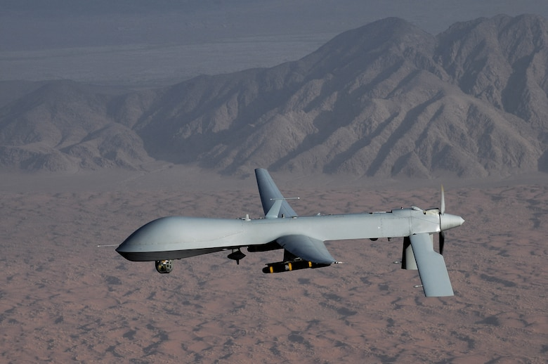 Intelligence, surveillance and reconnaissance data, such as images provided by the Predator remotely piloted vehicle, are becoming easier to share with the newest version of the Distributed Common Ground System Integration Backbone, version 2.0, which was released Oct. 15. (U.S. Air Force photo by Lt. Col. Leslie Pratt)