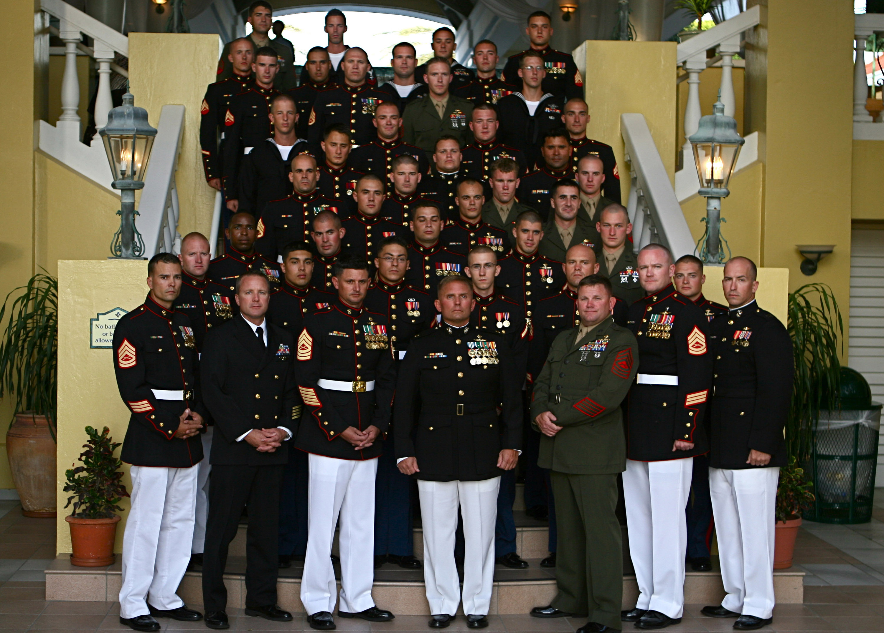 U.S. Marines celebrate their 235th birthday with Dutch ...