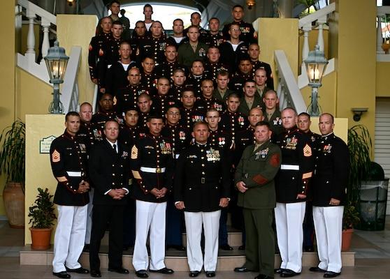 U.S. Marines celebrate their 235th birthday with Dutch ...