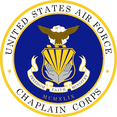 Chaplain Corps (Color). U.S. Air Force graphic. Department of Defense and Military Seals are protected by law from unauthorized use. These seals may NOT be used for non-official purposes. For additional information contact the appropriate proponent.