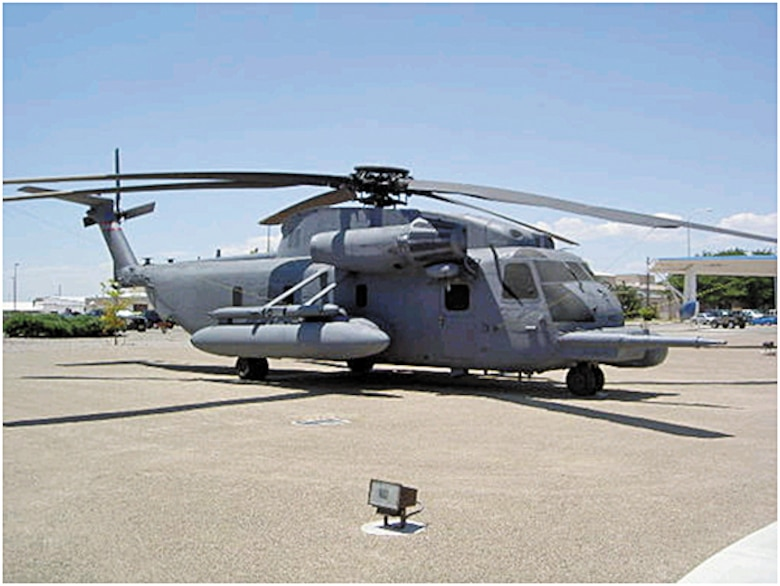 Helicopter 66-14433 now rests at the 58th Special Operations Wing's airpark on Aberdeen Drive.