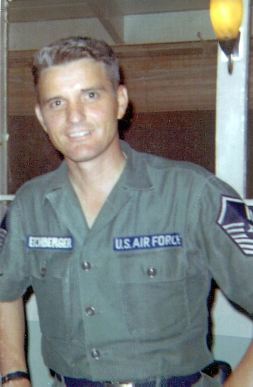 "Chief Master Sgt. Richard L. ""Dick"" Etchberger, an Air Force senior NCO who was killed after saving the lives of some of his crew during a fierce battle at a radar site in Laos 42 years ago, will receive the Medal of Honor Sept. 21 in a White House ceremony.  (Courtesy photo)"