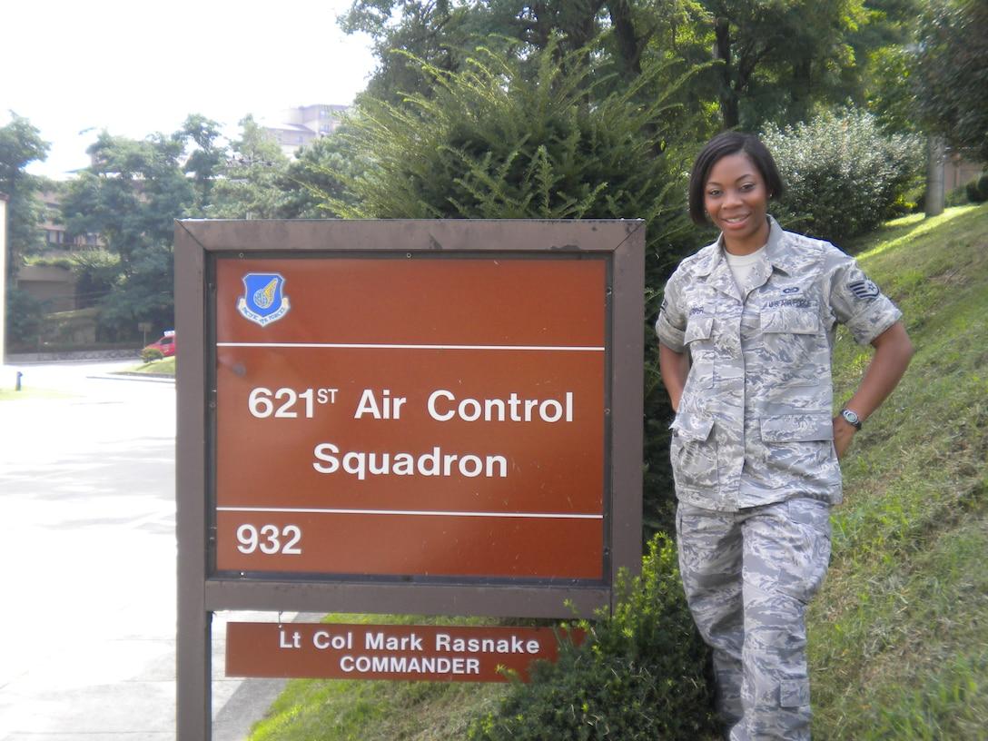 Staff Sgt. Naomi Harper, 621st Air Control Squadron