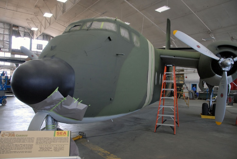 DAYTON, Ohio (09/2010) -- De Havilland C-7A undergoing restoration at the National Museum of the U.S. Air Force. (U.S. Air Force phto)