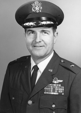 Brigadier General Robert R. Scott, in an undated photograph, retired in 1973 as deputy chief of staff, personnel, Headquarters Strategic Air Command.